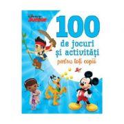 Disney Junior. 100 De Jocuri Si Activitati Pentru Toti Copiii - Disney