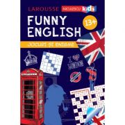 FUNNY ENGLISH. Jocuri si enigme (13+) - Sandra Lebrun imagine librariadelfin.ro