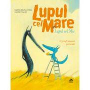 Lupul cel Mare si Lupul cel Mic. O prefrumoasa portocala - Nadine Brun-Cosme