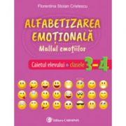 Alfabetizarea emotionala. Mallul emotiilor. Caietul elevului. Clasele 3-4 - Florentina Stoian Cristescu imagine librariadelfin.ro