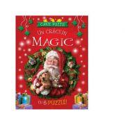 Carte puzzle. Un Craciun Magic cu 6 puzzle! imagine librariadelfin.ro