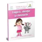 Logica, atentie si memorie - Activitati de zi cu zi pentru prescolari de 3 - 4 ani imagine librariadelfin.ro
