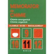 Memorator de chimie. Sinteze pentru liceu - Elena Cioc imagine librariadelfin.ro