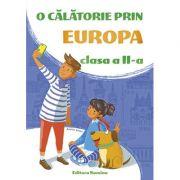 O calatorie prin Europa clasa a II-a 2019-2020 imagine librariadelfin.ro