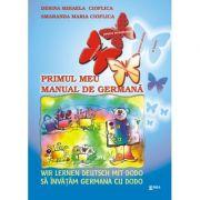 Primul meu manual de germana. Sa invatam germana cu Dodo - Desina Cioflica imagine librariadelfin.ro