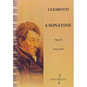 6 Sonatine, Opus 36 Pentru Pian - Muzio Clementi