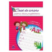 Caiet de scriere pentru clasa pregatitoare imagine librariadelfin.ro