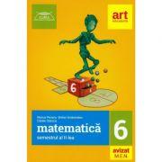 Clubul matematicienilor - Matematica pentru clasa a VI - Semestrul al II-lea. Avizat MEN 2018 - Marius Perianu imagine librariadelfin.ro
