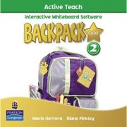 Backpack Gold 2 Active Teach New Edition Multimedia CD - Diane Pinkley imagine librariadelfin.ro
