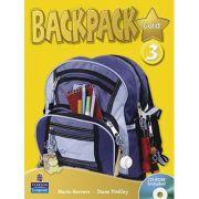 Imagine Backpack Gold 3 Student Book And Cd-rom Pack - Mario Herrera
