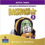 Imagine Backpack Gold 5 Active Teach New Edition - Mario Herrera