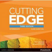 Cutting Edge 3rd Edition Intermediate Class CD - Sarah Cunningham imagine librariadelfin.ro