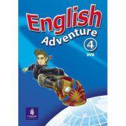 English Adventure, DVD, Level 4 imagine librariadelfin.ro