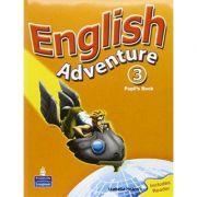 English Adventure, Pupils Book, Level 3, Plus Reader imagine librariadelfin.ro