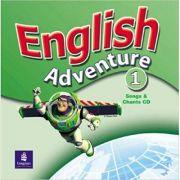 English Adventure, Songs CD, Level 1 imagine librariadelfin.ro