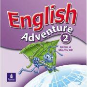 English Adventure, Songs CD, Level 2 imagine librariadelfin.ro