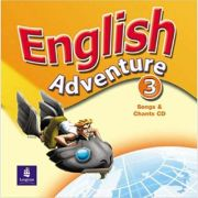 English Adventure, Songs CD, Level 3 imagine librariadelfin.ro