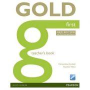 Gold First New Edition Teacher's Book - Clementine Annabell