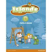 Islands Level 1 Pupil's Book plus pin code - Susannah Malpas