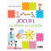 Jocuri cu litere si cuvinte - Marilena Serban imagine librariadelfin.ro