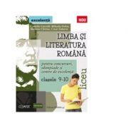 Limba si literatura romana pentru concursuri, olimpiade si centre de excelenta. Liceu. Clasele IX-X - Camelia Gavrila imagine librariadelfin.ro