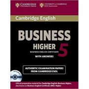 Cambridge: English Business 5 Higher Self-study Pack (Student's Book with Answers and Audio CD)