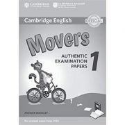 Cambridge English: Movers 1 - Authentic Examination Papers (Answer Booklet)