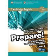 Cambridge English: Prepare! Level 2 - Teacher's Book (with DVD)