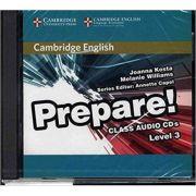 Cambridge English: Prepare! Level 3 - Class Audio (2x CDs)