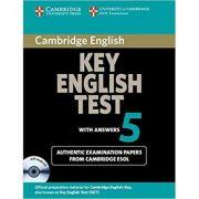 Imagine Cambridge: Key English Test 5 - Self Study Pack (student