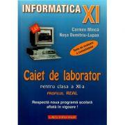 Caiet de laborator pentru clasa a XI-a - Profil real. Teste de evaluare a cunostintelor imagine librariadelfin.ro