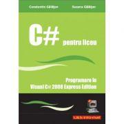 Imagine Curs De C# - Programare In Visual 2008 Express Edition Constantin
