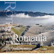 Album Romania: oameni, locuri si istorii, engleza. Small edition - Florin Andreescu, Mariana Pascaru