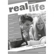 Imagine Real Life Global Elementary Test Book And Audio Cd Pack - Dominika