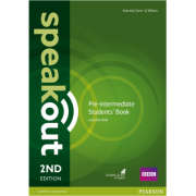 Speakout Pre-Intermediate 2nd Edition Students Book and DVD-ROM Pack - Antonia Clare