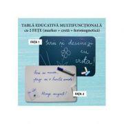 Tabla educativa multifunctionala (format A2) imagine librariadelfin.ro