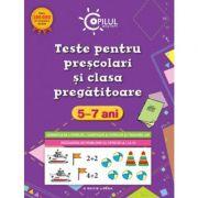 Teste pentru prescolari si clasa pregatitoare (5 - 7 ani). Copilul destept imagine librariadelfin.ro