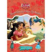 Elena Din Avalor. Sa Pictam Cu Elena Din Avalor. Carte De Colorat Cu Pensula Si Acuarele - Disney
