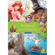 Prietenii printeselor (Carte + CD audio) - Disney