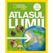 National Geographic Kids. Atlasul lumii pentru tineri exploratori. Editie noua, revizuita imagine librariadelfin.ro