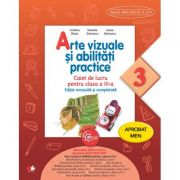 Arte vizuale si abilitati practice. Caiet de lucru. Clasa a III-a - Cristina Rizea imagine librariadelfin.ro