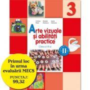 Arte vizuale si abilitati practice. Manual pentru clasa a III-a, pentru semestrul II - Cristina Rizea imagine librariadelfin.ro