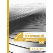 Culegere de matematica M2. Clasa a XI-a - Marius Burtea imagine librariadelfin.ro