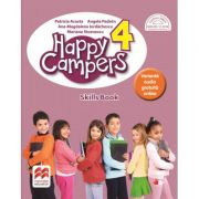Happy campers. Skills Book. Clasa a IV-a - Patricia Acosta imagine librariadelfin.ro