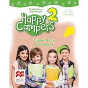 Happy Campers 2. Student Book and Workbook. Clasa II-a - Angela Lianas, Libby Williams imagine librariadelfin.ro