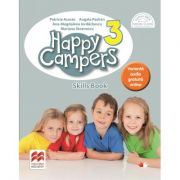 Happy Campers 3. Skills Book. Clasa a III-a - Patricia Acosta imagine librariadelfin.ro
