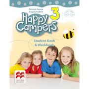 Happy Campers 3. Student's Book and Workbook. Clasa a III-a - Patricia Acosta imagine librariadelfin.ro