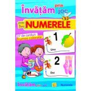 Invatam prin joc numerele + 3 ani. Carti de joc educative imagine librariadelfin.ro