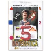 Manual de matematica pentru clasa a V-a - Alina Birta imagine librariadelfin.ro