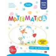 Imi place la gradinita. Matematica. Caiet de activitati. Grupa mare 5-6 ani - Nina Beldie